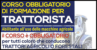 CORSO DI FORMAZIONE PER TRATTORISTA